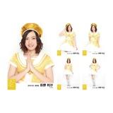 2014年2月「AKB48スーパーフェスティバル衣装」個別生写真5枚セット 荻野利沙