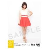 2014年4月度SKE48net shop限定個別生写真5枚セット 矢方美紀