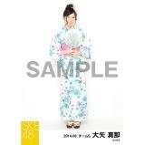 SKE48 2014年8月度個別生写真「浴衣」5枚セット 大矢真那
