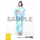 SKE48 2014年8月度個別生写真「浴衣」5枚セット 松井珠理奈