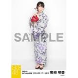 SKE48 2014年8月度net shop限定個別生写真 高柳明音