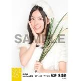 SKE48 2014年9月度 net shop限定個別生写真5枚セット 松井珠理奈