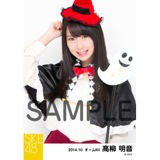 SKE48 2014年10月度SKE48個別生写真「ハロウィン2014」5枚セット 高柳明音