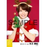 SKE48 2014年12月度個別生写真「クリスマス」5枚セット 矢方美紀