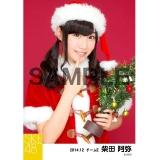SKE48 2014年12月度個別生写真「クリスマス」5枚セット 柴田阿弥