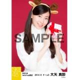 SKE48 2014年12月度net shop限定個別生写真5枚セット 大矢真那
