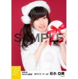 SKE48 2014年12月度net shop限定個別生写真5枚セット 岩永亞美