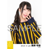 SKE48 2015年1月度個別生写真「アイビーストライプ」5枚セット 高柳明音