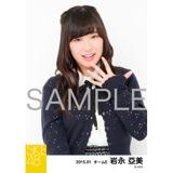SKE48 2015年1月度個別生写真「アイビーストライプ」5枚セット 岩永亞美