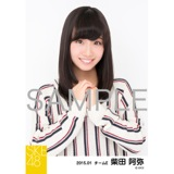 SKE48 2015年1月度個別生写真「アイビーストライプ」5枚セット 柴田阿弥