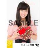 SKE48 2015年2月度個別生写真「バレンタイン」5枚セット 柴田阿弥