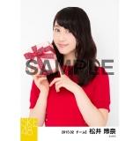 SKE48 2015年2月度個別生写真「バレンタイン」5枚セット 松井玲奈