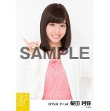 SKE48 2015年3月度個別生写真「春コート」5枚セット 柴田阿弥