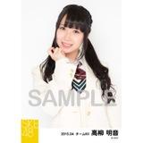SKE48 2015年4月度個別生写真「春制服」5枚セット 高柳明音