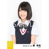 SKE48 2015年5月度個別生写真「ネイビーベスト制服」5枚セット 東李苑