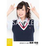 SKE48 2015年5月度個別生写真「ネイビーベスト制服」5枚セット 高柳明音