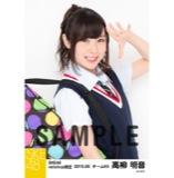 SKE48 2015年5月度net shop限定個別生写真5枚セット 高柳明音