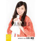 SKE48 2015年6月度個別生写真「レインコート」5枚セット 大矢真那