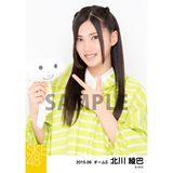 SKE48 2015年6月度個別生写真「レインコート」5枚セット 北川綾巴