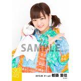 SKE48 2015年6月度個別生写真「レインコート」5枚セット 都築里佳