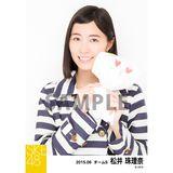 SKE48 2015年6月度個別生写真「レインコート」5枚セット 松井珠理奈