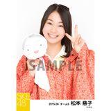 SKE48 2015年6月度個別生写真「レインコート」5枚セット 松本慈子