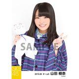 SKE48 2015年6月度個別生写真「レインコート」5枚セット 山田樹奈