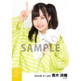 SKE48 2015年6月度個別生写真「レインコート」5枚セット 青木詩織