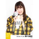 SKE48 2015年6月度個別生写真「レインコート」5枚セット 高木由麻奈