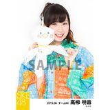 SKE48 2015年6月度個別生写真「レインコート」5枚セット 高柳明音
