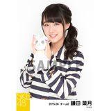 SKE48 2015年6月度個別生写真「レインコート」5枚セット 鎌田菜月