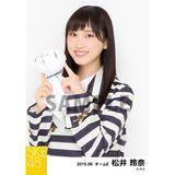 SKE48 2015年6月度個別生写真「レインコート」5枚セット 松井玲奈