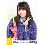 SKE48 2015年6月度net shop限定個別生写真5枚セット 山田樹奈