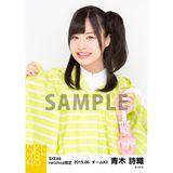 SKE48 2015年6月度net shop限定個別生写真5枚セット 青木詩織