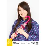 SKE48 2015年6月度net shop限定個別生写真5枚セット 内山命