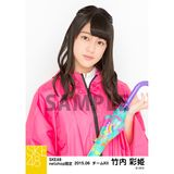 SKE48 2015年6月度net shop限定個別生写真5枚セット 竹内彩姫