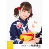 SKE48 2015年7月度個別生写真「浴衣」5枚セット 都築里佳