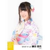 SKE48 2015年7月度個別生写真「浴衣」5枚セット 鎌田菜月