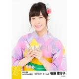 SKE48 2015年7月度net shop限定個別生写真5枚セット 後藤理沙子