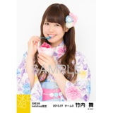 SKE48 2015年7月度net shop限定個別生写真5枚セット 竹内舞