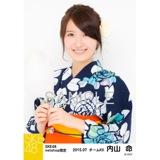 SKE48 2015年7月度net shop限定個別生写真5枚セット 内山命
