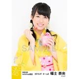 SKE48 2015年7月度net shop限定個別生写真5枚セット 福士奈央