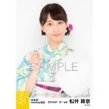 SKE48 2015年7月度net shop限定個別生写真5枚セット 松井玲奈