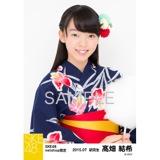 SKE48 2015年7月度net shop限定個別生写真5枚セット 髙畑結希