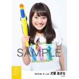 SKE48 2015年8月度個別生写真「夏服」5枚セット 犬塚あさな