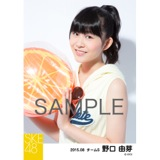 SKE48 2015年8月度個別生写真「夏服」5枚セット 野口由芽
