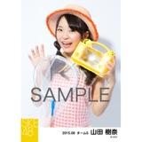 SKE48 2015年8月度個別生写真「夏服」5枚セット 山田樹奈