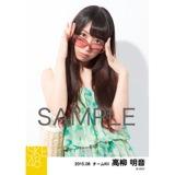 SKE48 2015年8月度個別生写真「夏服」5枚セット 高柳明音