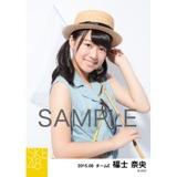 SKE48 2015年8月度個別生写真「夏服」5枚セット 福士奈央
