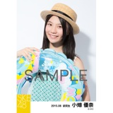 SKE48 2015年8月度個別生写真「夏服」5枚セット 小畑優奈